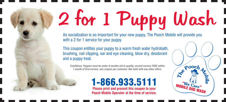 tpm 2 for 1 puppy coupon